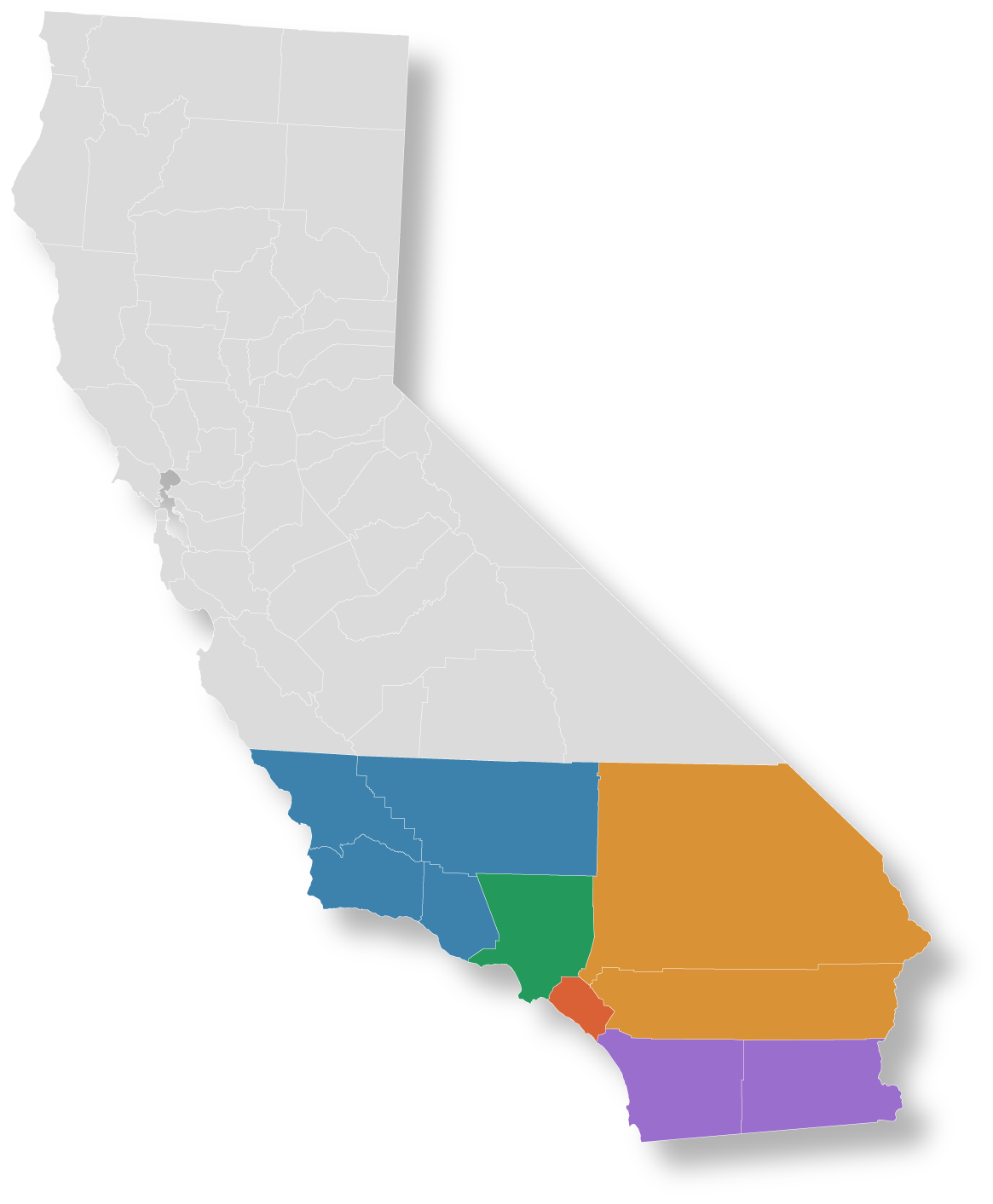 Southern California Sales Team | Counties we Serve