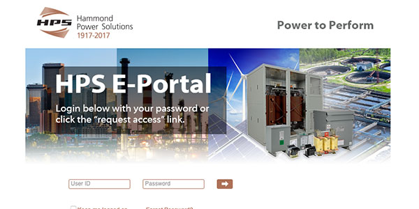 Click here to access the Hammond portal